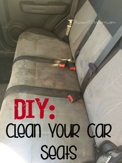 Diy Car Interior Design: DIY: Detail Your Cars Upholstery!!